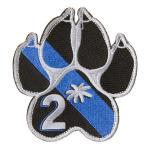 K9 Paw patch (Thin Blue lIne w/ 2*)