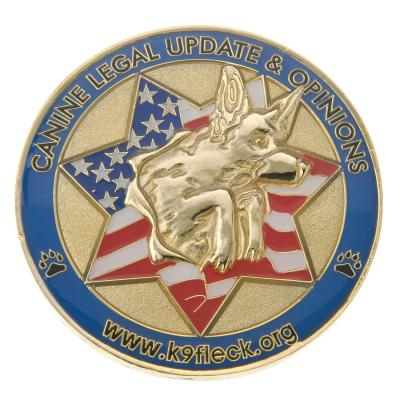K9   Delta Challenge Coins   Custom Coins for all Industries